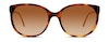 Burberry BE 4146 Women's Sunglasses Brown/Havana