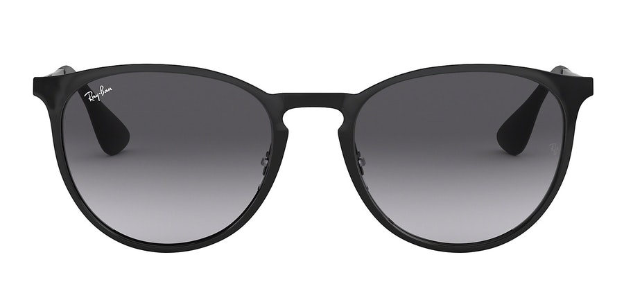 Ray-Ban Erika Metal RB 3539 Unisex Sunglasses Grey/Black