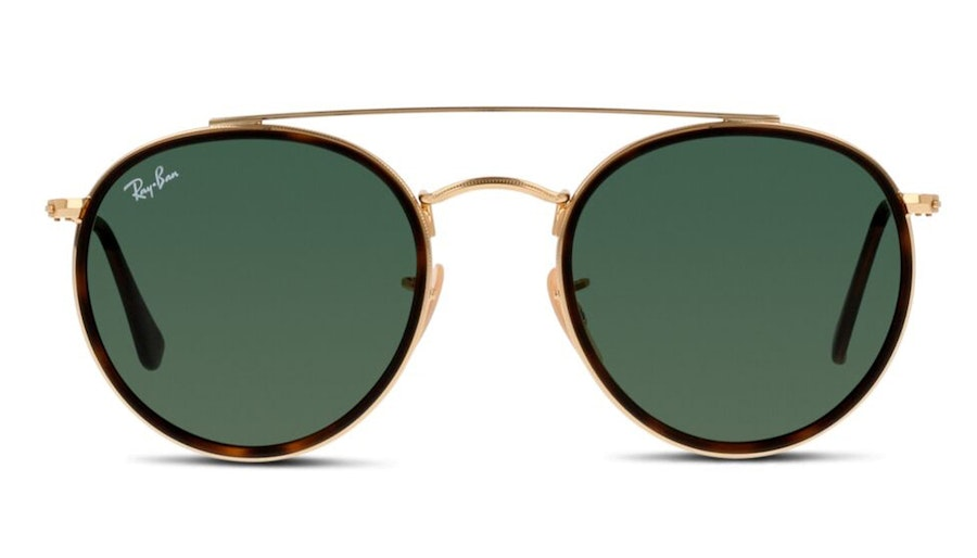 Ray-Ban RB 3647N Unisex Sunglasses Green/Gold