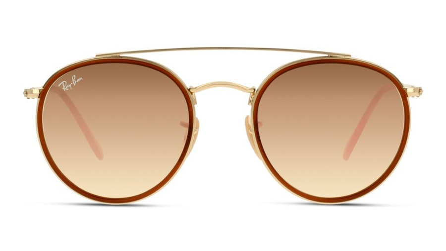 Ray-Ban RB 3647N Unisex Sunglasses Pink/Gold