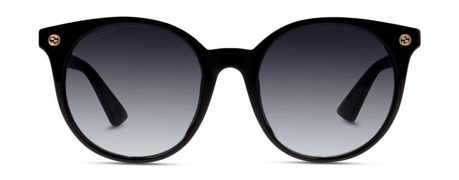 Gucci GG 0091S Women's Sunglasses Grey/Black