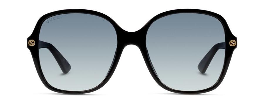 Gucci GG 0092S Women's Sunglasses Grey/Black