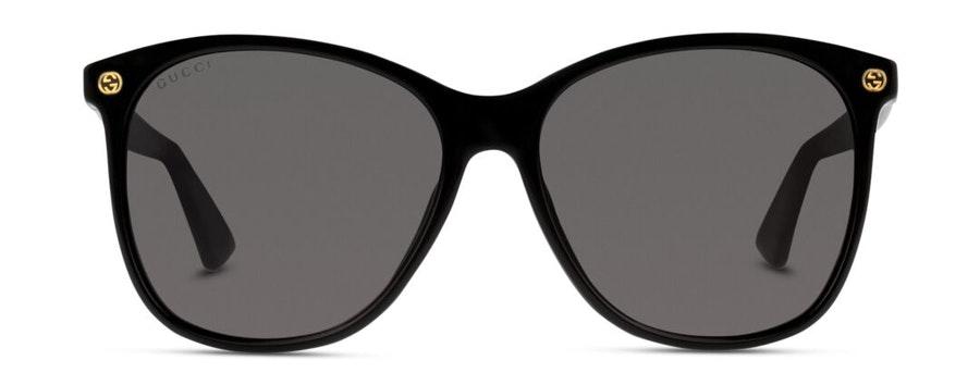 Gucci GG 0024S Women's Sunglasses Grey/Black