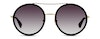 Gucci GG 0061S Women's Sunglasses Grey/Gold