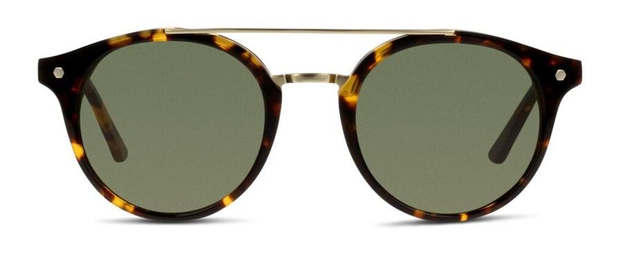 In Style FU01 Unisex Sunglasses Green/Tortoise Shell