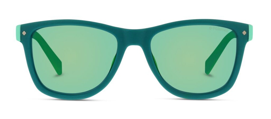 Polaroid Kids PLD 8025/S Children's Sunglasses Green/Green