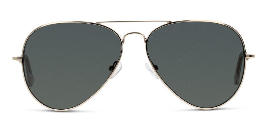 Seen GU03 Unisex Sunglasses Green/Gold