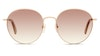 Longchamp LO 101S Women's Sunglasses Brown/Gold