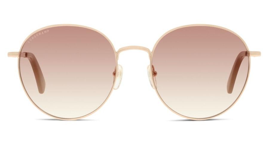 Longchamp LO 101S Women's Sunglasses Brown/Gold
