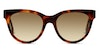 Longchamp LO602S Women's Sunglasses Grey/Tortoise Shell