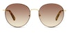 Longchamp LO 101S Women's Sunglasses Grey/Gold