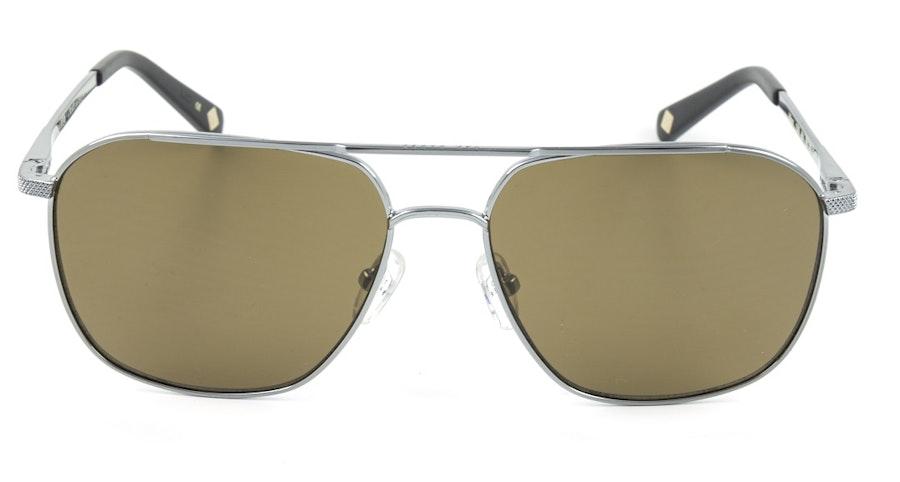 Ted Baker Wilson TB 1509 Men's Sunglasses Brown/Silver