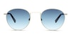 Tommy Hilfiger TH1572/S Unisex Sunglasses Blue/Silver