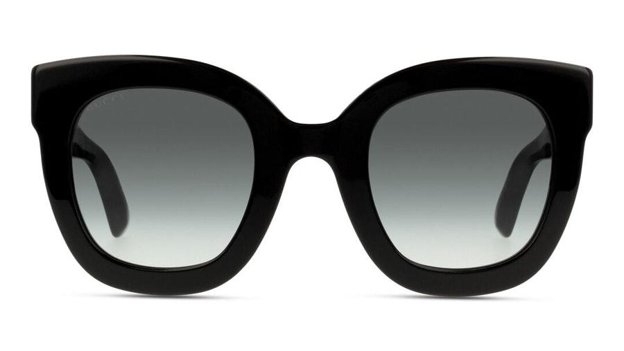 Gucci GG 0208S Women's Sunglasses Grey/Black