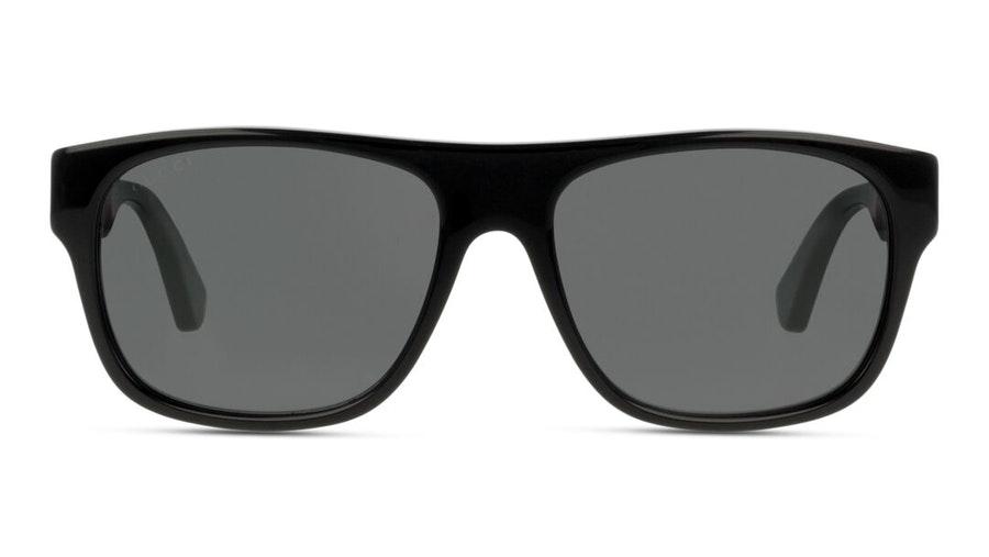 Gucci GG 0341S Men's Sunglasses Grey/Black