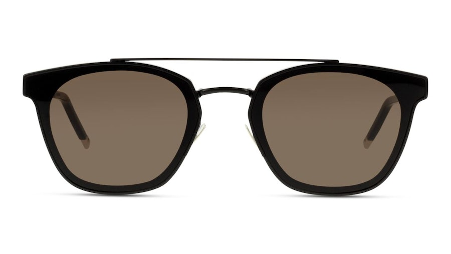 Saint Laurent Metal SL 28 Men's Sunglasses Grey/Black