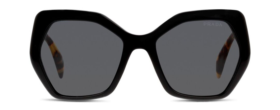 Prada PR 16RS Women's Sunglasses Grey/Black