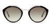 Prada PR18US Women's Sunglasses Silver/Silver
