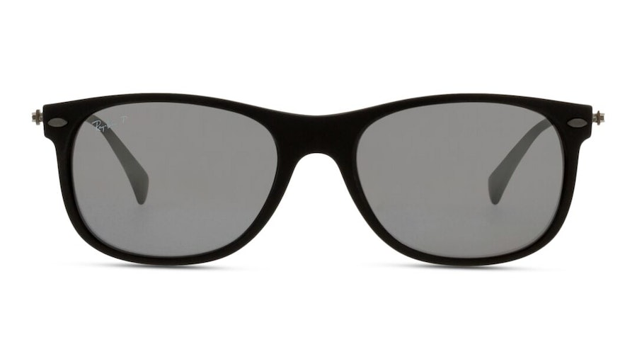 Ray-Ban RB 4318 Unisex Sunglasses Grey / Black
