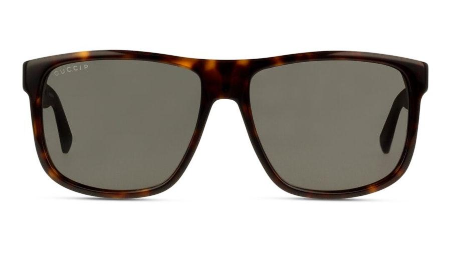 Gucci GG 0010S Men's Sunglasses Grey/Tortoise Shell