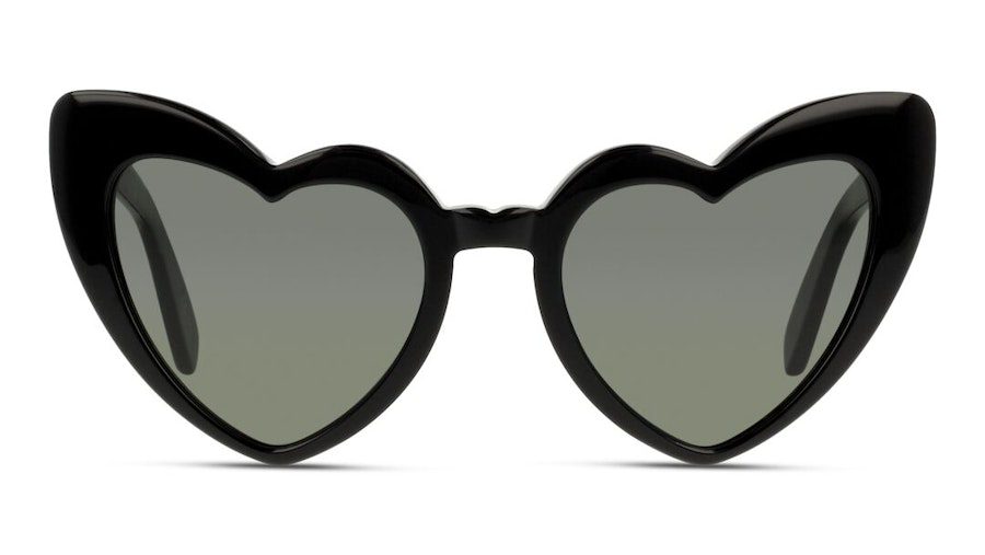 Saint Laurent Loulou SL 181 Women's Sunglasses Grey/Black