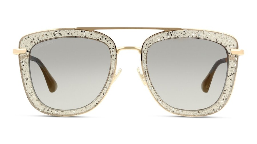 Jimmy Choo Glossy Women's Sunglasses Grey/Gold