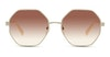Longchamp LO106S Women's Sunglasses Brown/Silver