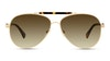 Longchamp LO109S Women's Sunglasses Green/Gold