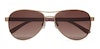 Joules Cowes 5011 Women's Sunglasses Brown/Gold