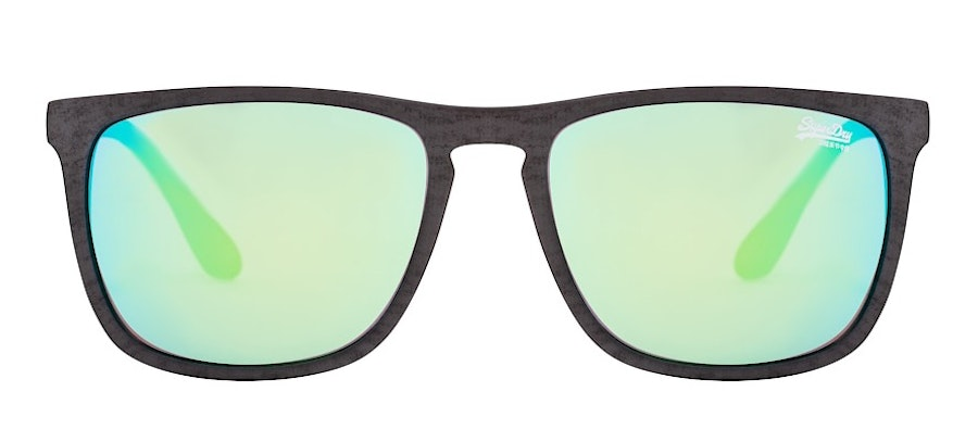 Superdry Shockwave 182 Men's Sunglasses Green/Grey