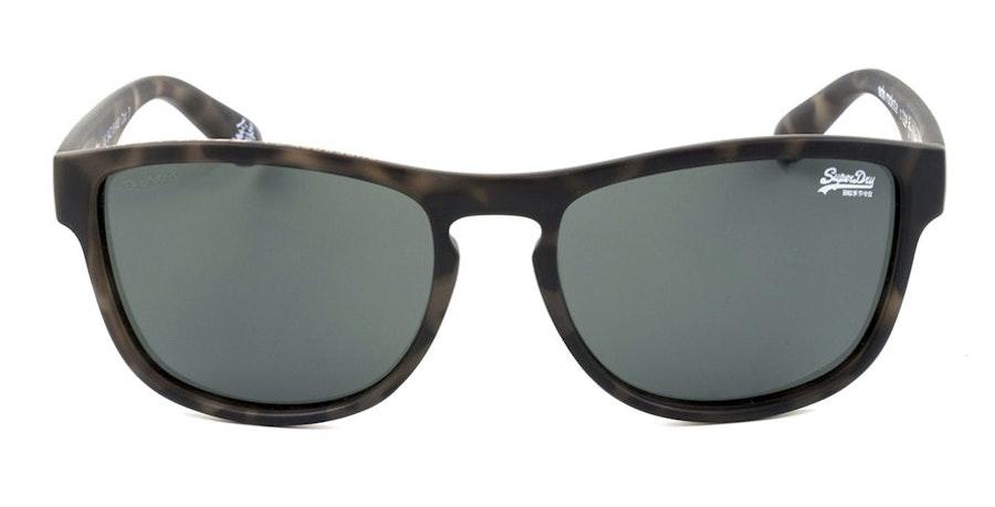 Superdry Rockstar SDS 122P Unisex Sunglasses Green/Tortoise Shell