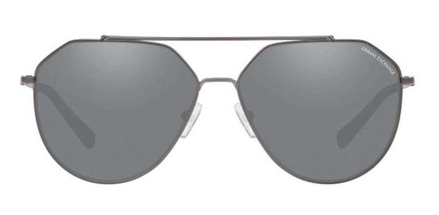 Armani Exchange AX2023S Men's Sunglasses Grey/Grey