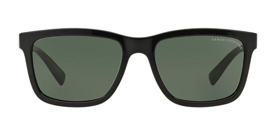 Armani Exchange AX4045S Men's Sunglasses Green / Black