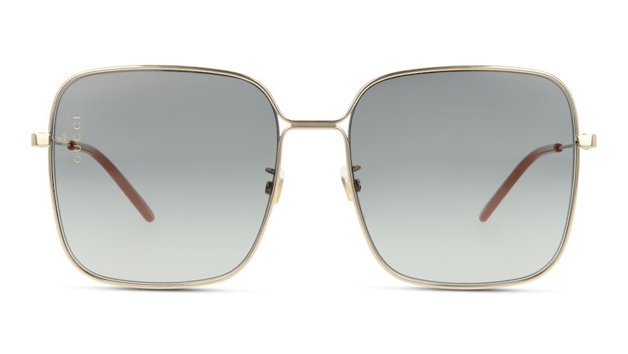 Gucci GG 0443S Women's Sunglasses Grey/Gold