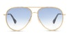 Jimmy Choo Triny Women's Sunglasses Blue/Gold