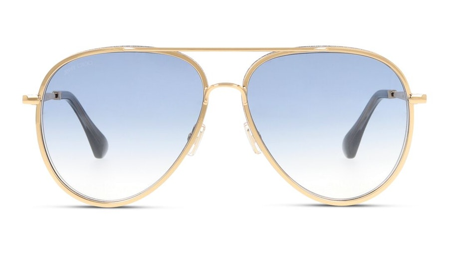 Jimmy Choo Triny Women's Sunglasses Blue/Gold