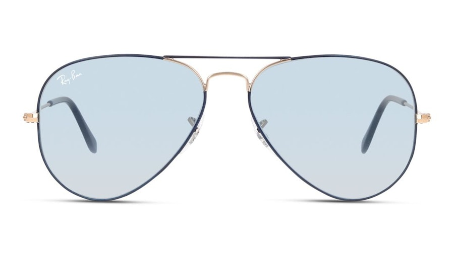 Ray-Ban Aviator RB 3025 Men's Sunglasses Blue/Grey
