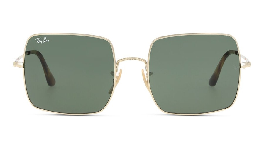 Ray-Ban Square RB 1971 Unisex Sunglasses Green/Gold