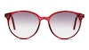 Seen RCJF07R Women's Sunglasses Grey/Burgundy
