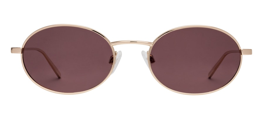Prive Revaux Candy by Madelaine Petsch Women's Sunglasses Red/Gold