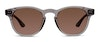 Heritage HSEM15 Men's Sunglasses Brown/Transparent