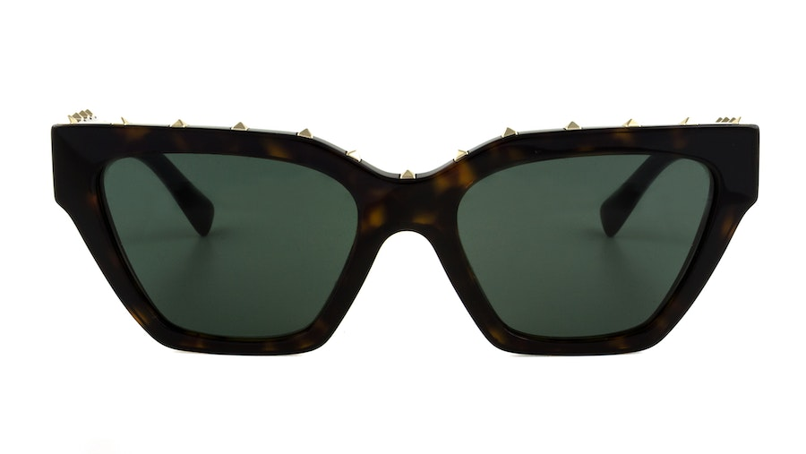 Valentino VA 4046 Women's Sunglasses Green/Tortoise Shell