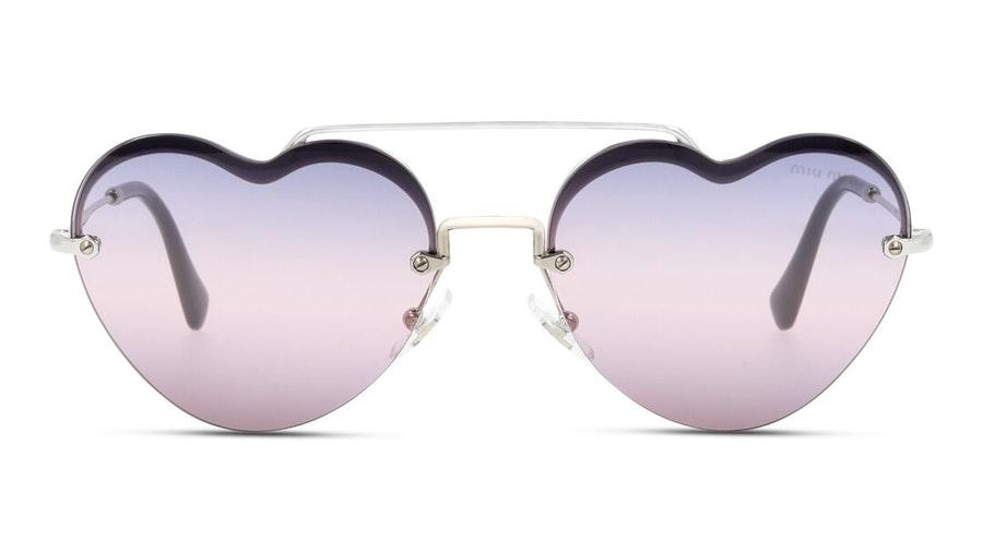 Miu Miu MU 62US Women's Sunglasses Pink/Silver