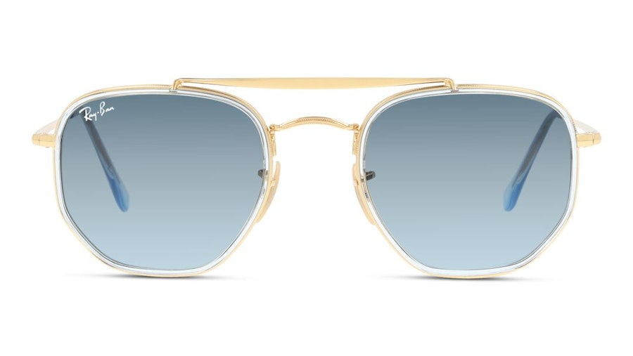 Ray-Ban The Marshal Ii RB 3648M Men's Sunglasses Blue/Gold