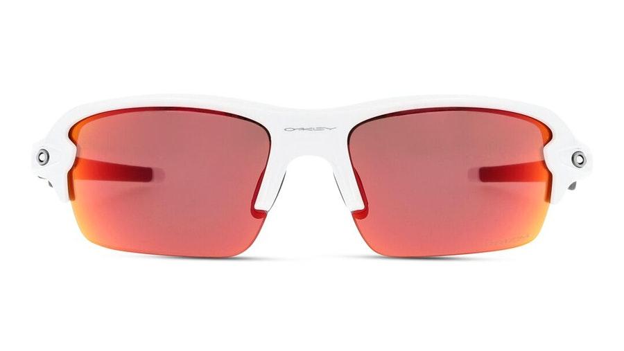 Oakley Youth Flak XS OJ 9005 Children's Sunglasses Violet/White
