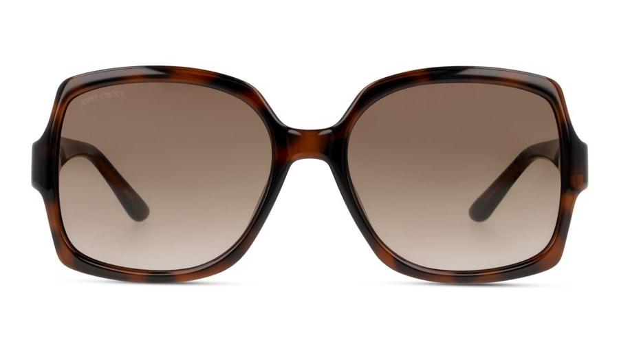 Jimmy Choo Sammi Women's Sunglasses Violet / Tortoise Shell