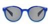 Polaroid Kids PLD 8036/S Children's Sunglasses Grey/Blue