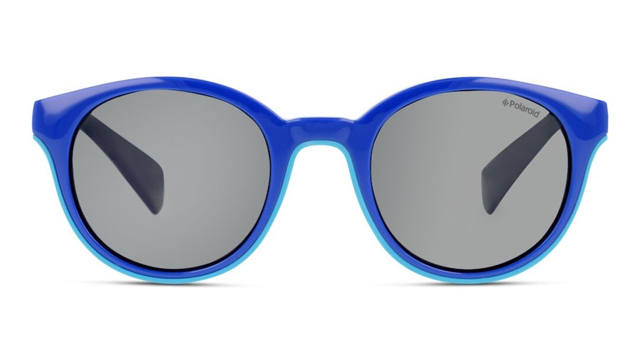 Polaroid Kids PLD 8036/S Children's Sunglasses Grey/Blue