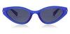 Polaroid Sleek Cat-Eye PLD4074/S Women's Sunglasses Grey/Blue