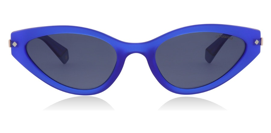Polaroid Sleek Cat-Eye PLD 4074/S Women's Sunglasses Grey / Blue